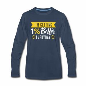 motivated to be better - Men's Premium Long Sleeve T-Shirt