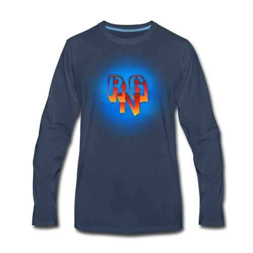 RgNation Logo - Men's Premium Long Sleeve T-Shirt