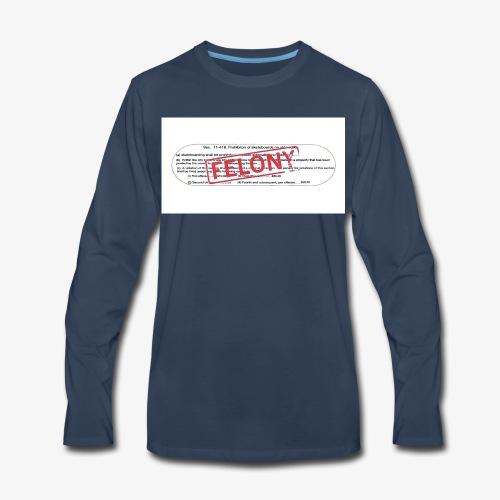 OG deck graphic - Men's Premium Long Sleeve T-Shirt