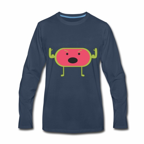 Angry Watermelon - Men's Premium Long Sleeve T-Shirt