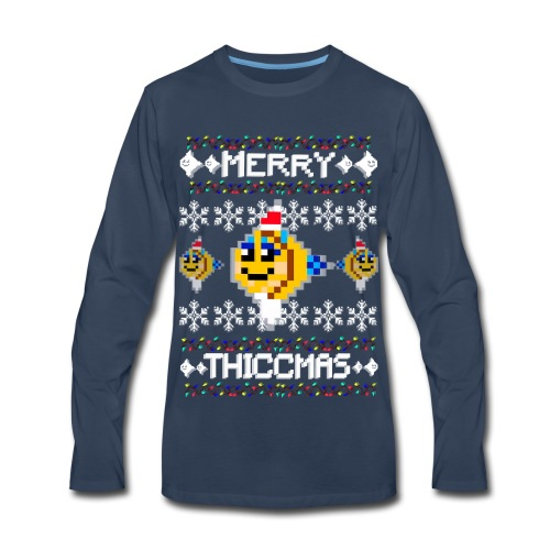 Merry Thiccmas - Men's Premium Long Sleeve T-Shirt