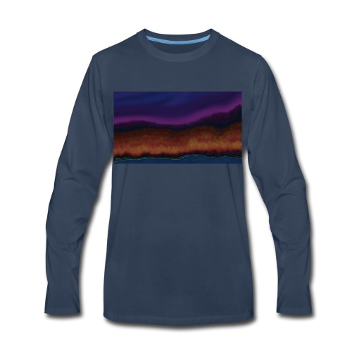 Fall Scene - Men's Premium Long Sleeve T-Shirt