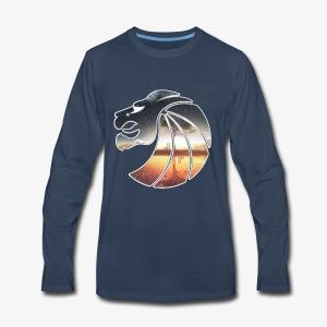 Seven Lions Logo - Men's Premium Long Sleeve T-Shirt
