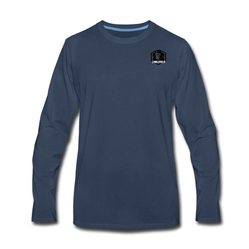 GymGorilla Minimal - Men's Premium Long Sleeve T-Shirt