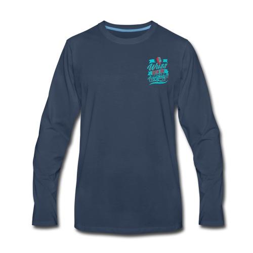Wuss Goin On - Men's Premium Long Sleeve T-Shirt