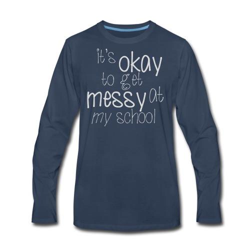 School Pride - Men's Premium Long Sleeve T-Shirt