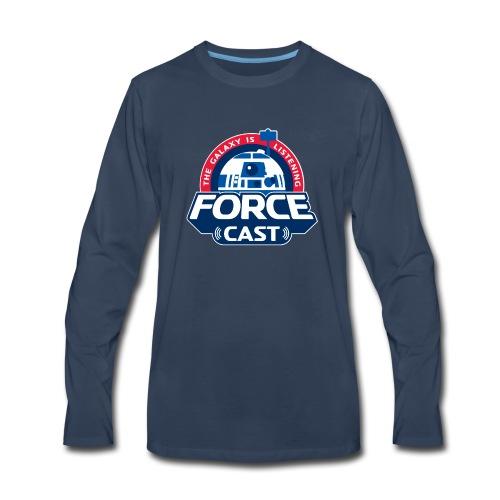 FORCE CAST LOGO - Men's Premium Long Sleeve T-Shirt