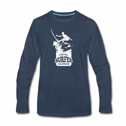 Superior - California Surfer - Men's Premium Long Sleeve T-Shirt