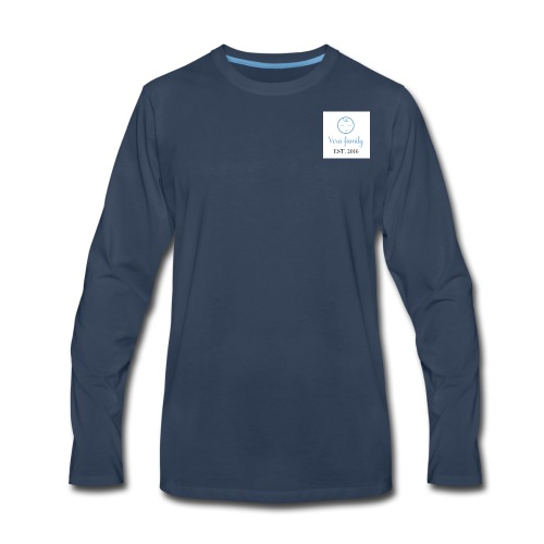 Baby Blue Logo - Men's Premium Long Sleeve T-Shirt
