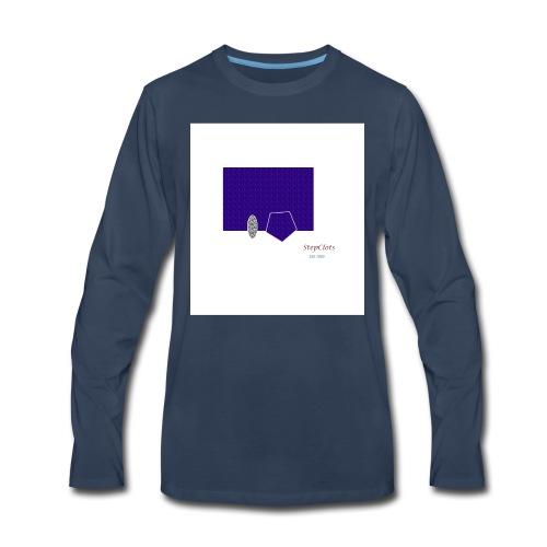 Simple Rectangle - Men's Premium Long Sleeve T-Shirt