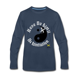 Have No Limit As Limitation - Men's Premium Long Sleeve T-Shirt