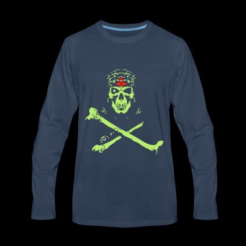 Halloween And Danger Design - Men's Premium Long Sleeve T-Shirt