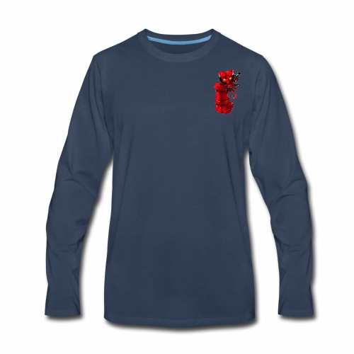 RedCAT - Men's Premium Long Sleeve T-Shirt