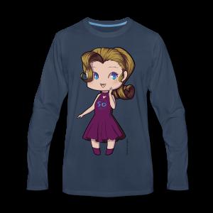 Anime Chibi Girl - Men's Premium Long Sleeve T-Shirt