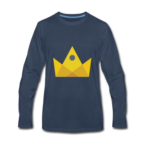 I am the KING - Men's Premium Long Sleeve T-Shirt
