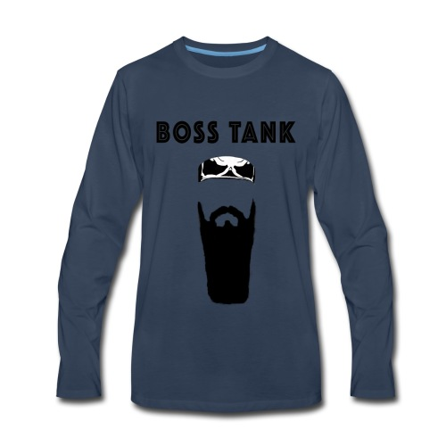 Beard Bandana MERCH - Men's Premium Long Sleeve T-Shirt