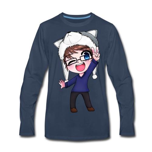 Aromi-Kun! OFFICIAL Logo - Men's Premium Long Sleeve T-Shirt