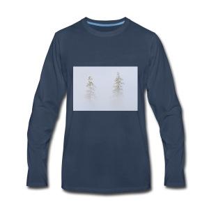 misty trees - Men's Premium Long Sleeve T-Shirt