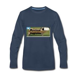 mystical pugtatoe symbol - Men's Premium Long Sleeve T-Shirt