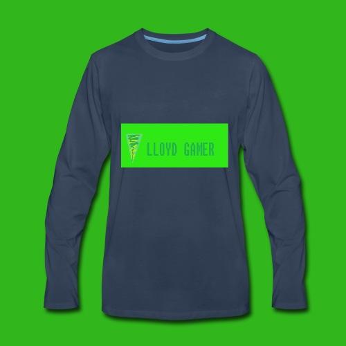 logo green - Men's Premium Long Sleeve T-Shirt