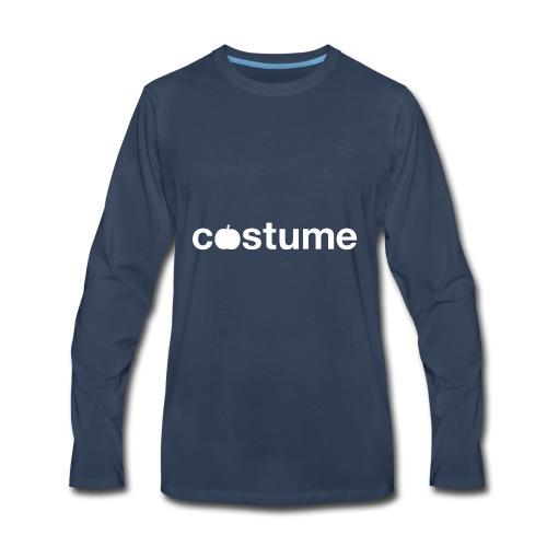 Pumpkin Costume T-shirt - Men's Premium Long Sleeve T-Shirt