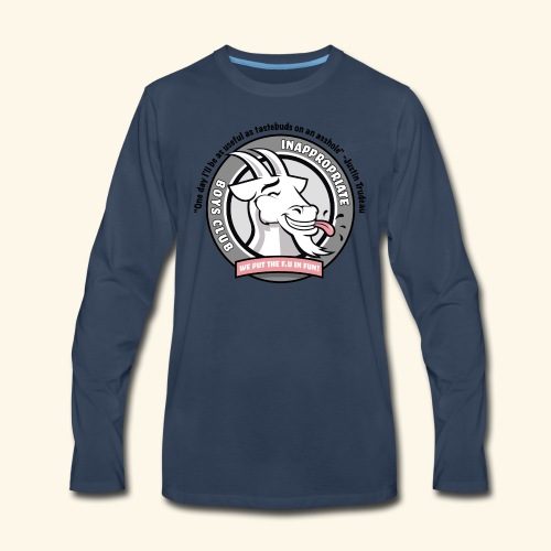 IBC Actual JT Quote - Men's Premium Long Sleeve T-Shirt