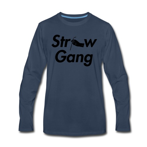 Straw Gang - Men's Premium Long Sleeve T-Shirt