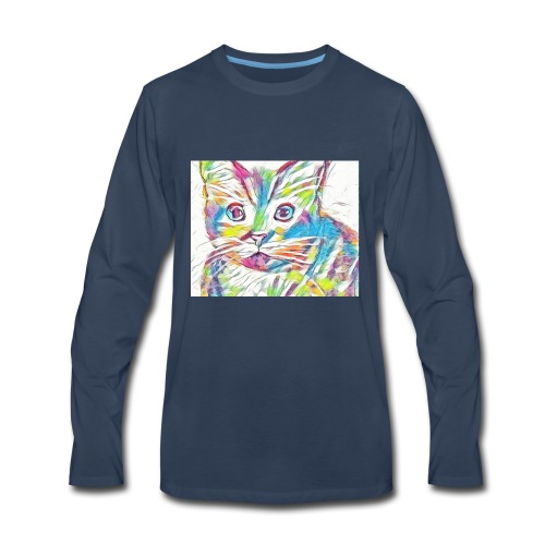 Meow - Men's Premium Long Sleeve T-Shirt