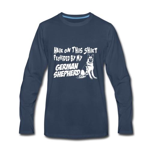 01 hair on this shirt - Men's Premium Long Sleeve T-Shirt