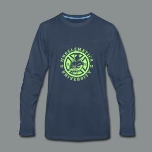 ALUMNI HIGH LIME - Men's Premium Long Sleeve T-Shirt