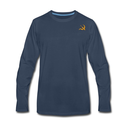 USSR logo - Men's Premium Long Sleeve T-Shirt