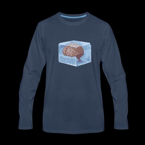 HOTH BRAIN FREAZE - Men's Premium Long Sleeve T-Shirt