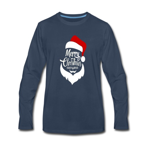 Merry Christmas Tee - Men's Premium Long Sleeve T-Shirt