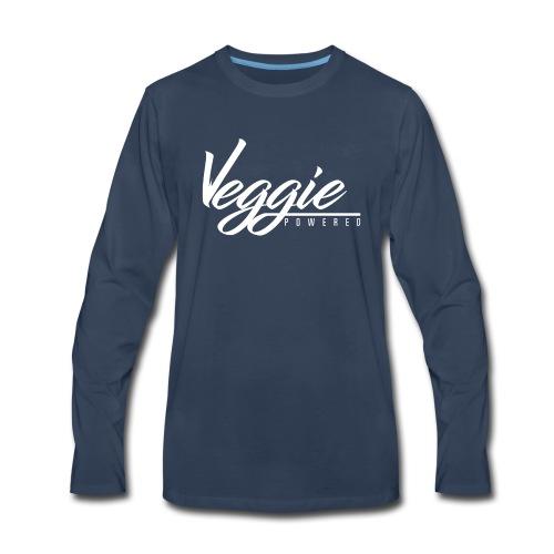 Veggie Powered - Men's Premium Long Sleeve T-Shirt