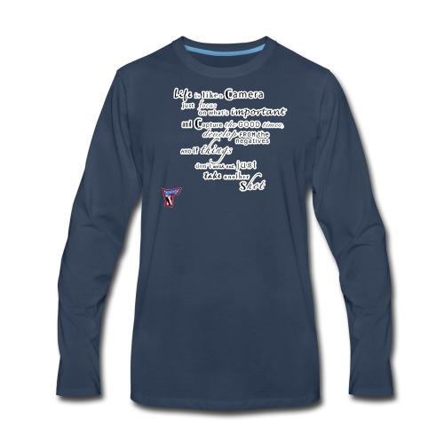 Life Is Like A Camera - Men's Premium Long Sleeve T-Shirt