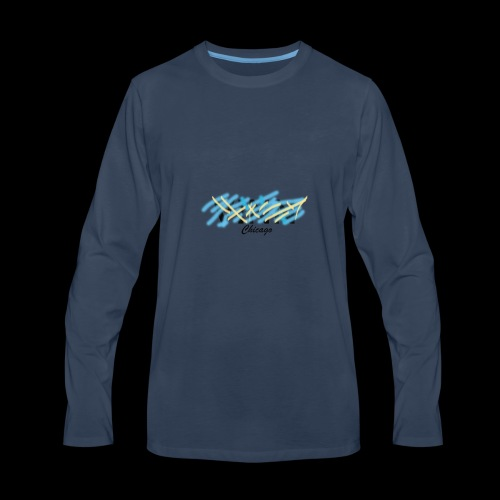 Vinn Chicago Design - Men's Premium Long Sleeve T-Shirt