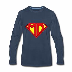 Medical Doctor Superman - Men's Premium Long Sleeve T-Shirt