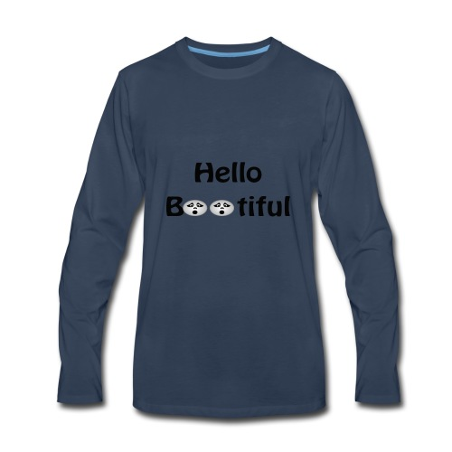 Hello Bootiful - Men's Premium Long Sleeve T-Shirt