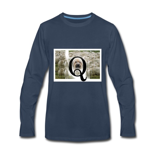 qsheepdog - Men's Premium Long Sleeve T-Shirt