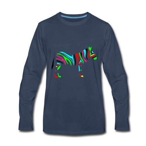 Wild_zebra - Men's Premium Long Sleeve T-Shirt