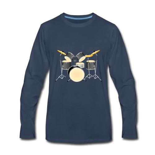 Drum Kit - Men's Premium Long Sleeve T-Shirt