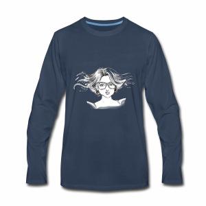 chica linda - Men's Premium Long Sleeve T-Shirt