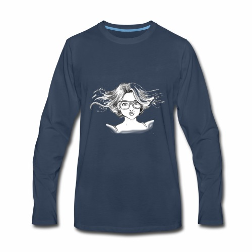 chica linda - Men's Premium Long Sleeve T-Shirt