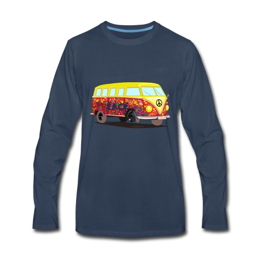 HippieBus - Men's Premium Long Sleeve T-Shirt