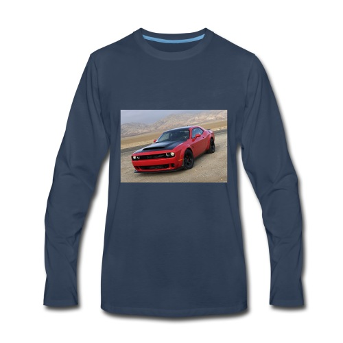 2018 Dodge Demon Prairie Front - Men's Premium Long Sleeve T-Shirt