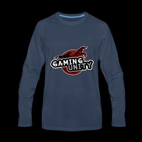Gaming Unity Logo - Men's Premium Long Sleeve T-Shirt