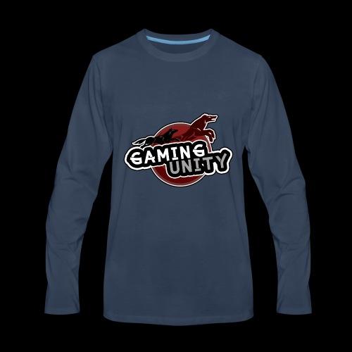 Gaming Unity Logo - Men's Premium Long Sleeve T-Shirt