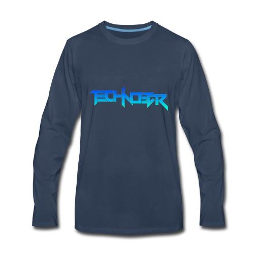 Blue Technostar Logo Apparel - Men's Premium Long Sleeve T-Shirt