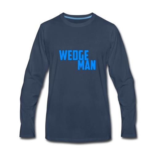 WedgeMan - Men's Premium Long Sleeve T-Shirt