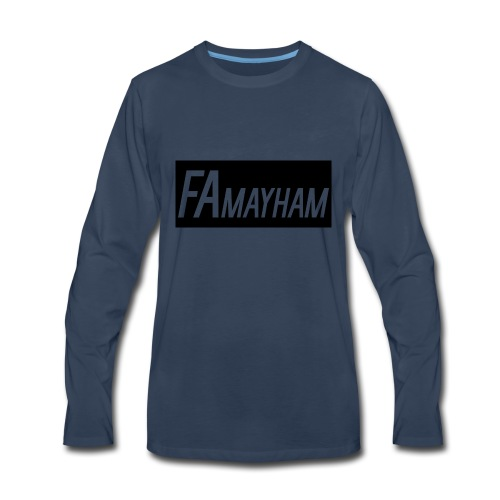 FAmayham - Men's Premium Long Sleeve T-Shirt